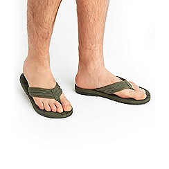 Joe Browns - Khaki urban flip flops