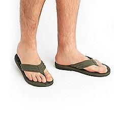 Joe Browns - Khaki urban flip flops