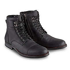 Joe Browns - Black must have oiled leather boots