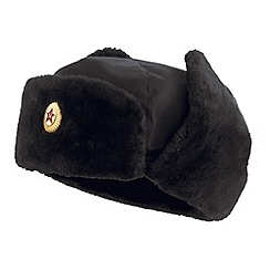 Joe Browns - Black authentic russian trapper hat