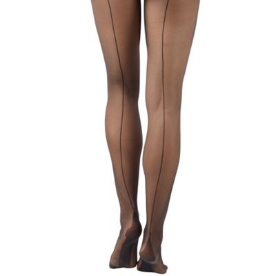 Black sexy seam tights
