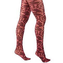 Joe Browns - Pink beautiful baroque tights