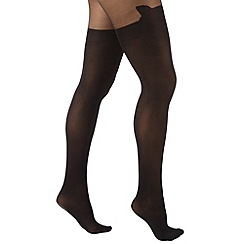Joe Browns - Black funky cat tights