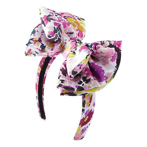 Joe Browns - Pink funky floral headband