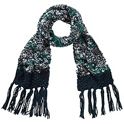 Joe Browns - Blue wonderful knitted scarf