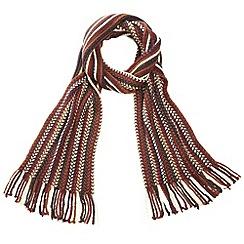 Joe Browns - Multi coloured chunky striped scarf