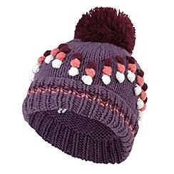 Joe Browns - Purple popcorn bobble hat