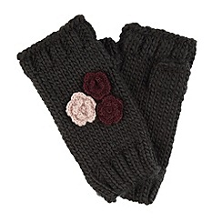 Joe Browns - Dark grey fabulous knitted armwarmer