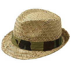 Joe Browns - Natural camouflage trilby