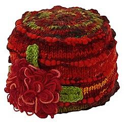 Joe Browns - Multi coloured corsage hat