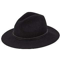 Joe Browns - Black stunning fedora hat