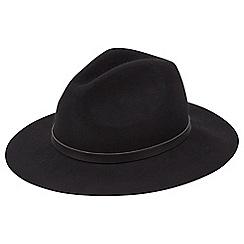 Joe Browns - Black stunning fedora hat