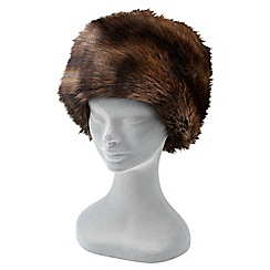 Joe Browns - Brown glamorous faux fur hat
