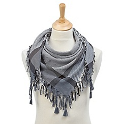Joe Browns - Grey cool square scarf