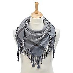 Joe Browns - Grey cool square scarf