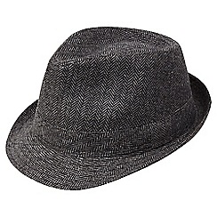 Joe Browns - Grey herringbone trilby