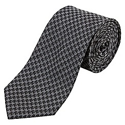 Joe Browns - Grey dogtooth check tie