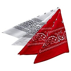 Joe Browns - Multi coloured pack of two bandanas