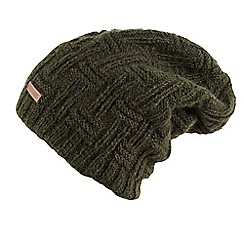 Joe Browns - Olive wool slouchy beanie