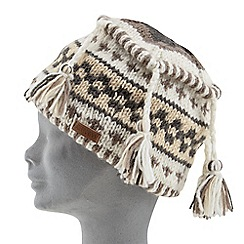 Joe Browns - Grey wool tassel hat