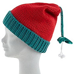 Joe Browns - Multi coloured mistletoe hat