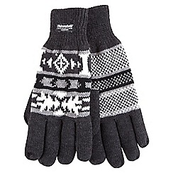 Joe Browns - Grey thinsulate gloves