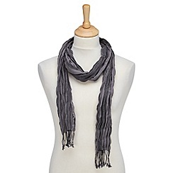 Joe Browns - Grey cool skinny scarf