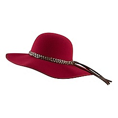 Joe Browns - Dark red fabulous floppy fedora