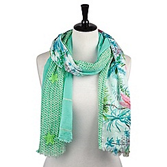 Joe Browns - Multi coloured floral mix and match scarf