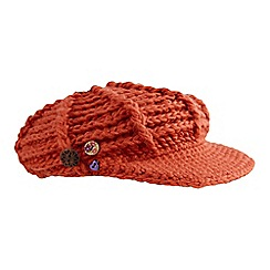 Joe Browns - Orange cute and cosy baker boy hat