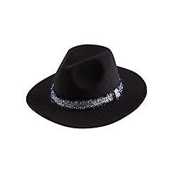 Joe Browns - Black remarkable fedora