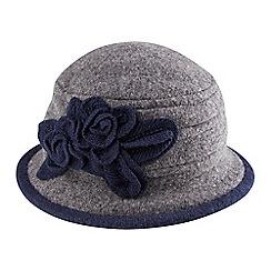 Joe Browns - Grey wonderful corsage hat