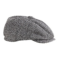 Joe Browns - Grey tweedy baker boy hat