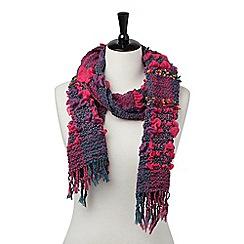 Joe Browns - Pink beautiful bouncy scarf