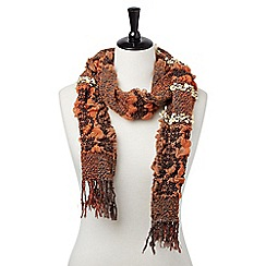 Joe Browns - Orange beautiful bouncy scarf