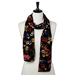 Joe Browns - Multi coloured super floral velour scarf