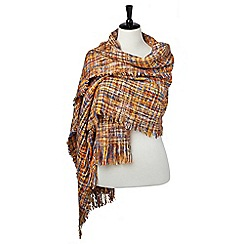 Joe Browns - Orange spectacular tweedy wrap