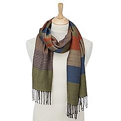 Joe Browns - Multi coloured stripe scarf