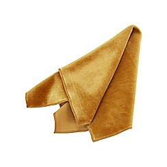 Joe Browns - Mustard velvet pocket square
