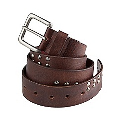 Joe Browns - Brown distressed leather belt