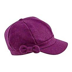 Joe Browns - Bright pink stunning harris tweed hat
