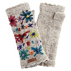 Joe Browns - Multi coloured beautiful embroidered hand warmers