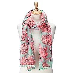 Joe Browns - Multi coloured tropical scarf