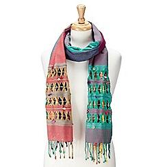 Joe Browns - Multi coloured colour me happy scarf