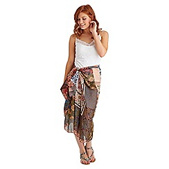 Joe Browns - Multi coloured patchwork sarong