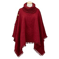 Joe Browns - Dark red perfect and cosy poncho