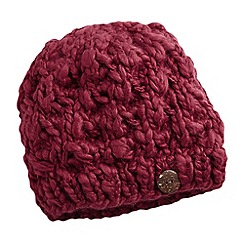 Joe Browns - Red cute and cosy button trim hat