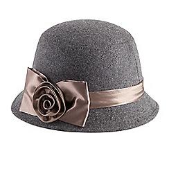 Joe Browns - Grey very vintage cloche hat