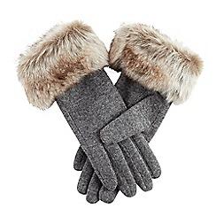 Joe Browns - Grey perfectly vintage wool gloves
