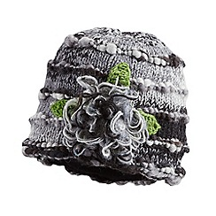 Joe Browns - Grey wool mix corsage hat